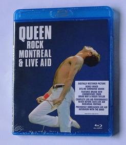 Blu-ray Queen Rock Montreal & Live Aid Importado Made In Eu