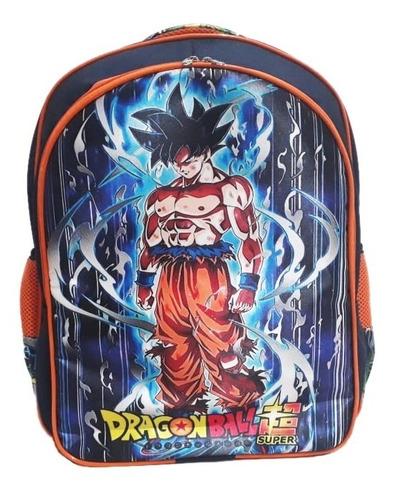 Mochila De Costas Dragon Ball Instinto Superior Tam G