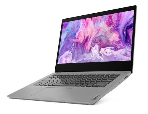 "Imagen 1 de 5 de Laptop Lenovo IdeaPad 14IML05  gris 14"", Intel Core i3 10110U  8GB de RAM 1TB HDD, Intel UHD Graphics 1366x768px Windows 10 Home"