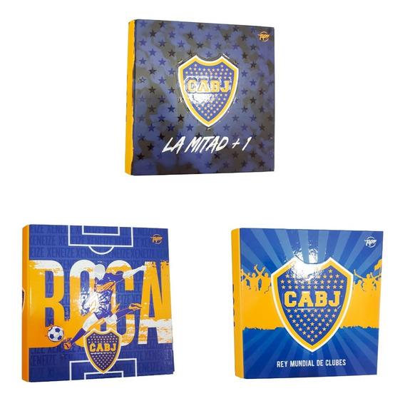 Carpetas Escolares Numero 3 Boca Juniors