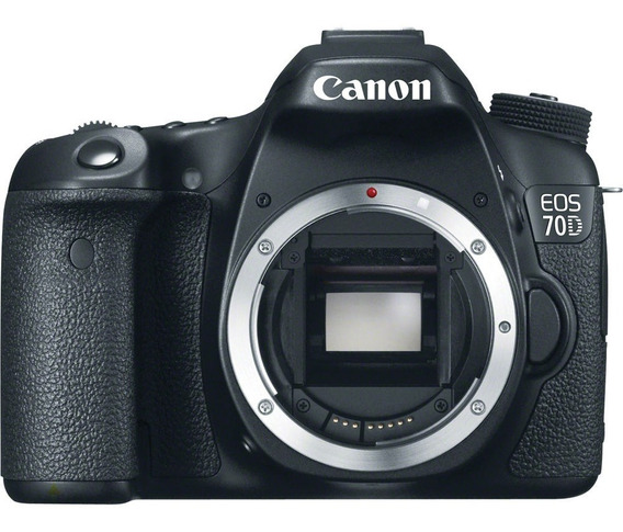 Reflex Canon 70d Body 20mpx Lcd 3 Wifi Modelo 2019 12 Cuotas