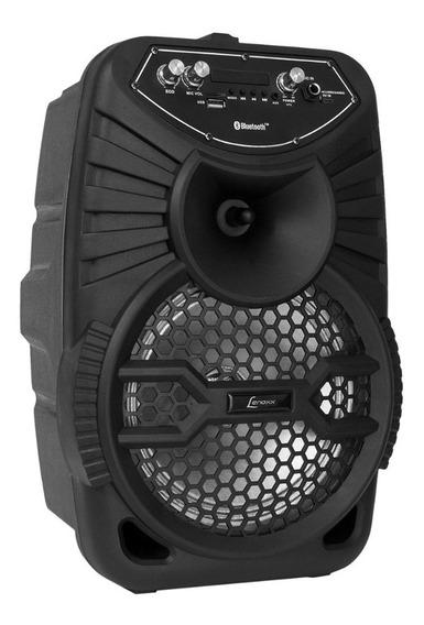Caixa De Som Amplificada 120w Bluetooth Ca100 Lenoxx