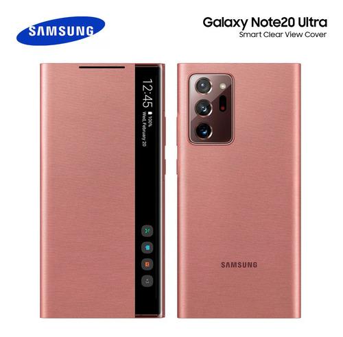 Case Samsung Galaxy Note 20 Ultra S-view Flip Cover Original