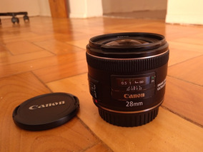 Lente Canon 28mm F2.8 Is Usm Tenho 35mm 24mm
