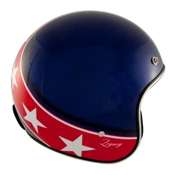 Capacete Zeus 380h K57 Azul/vermelho Preço Promocional