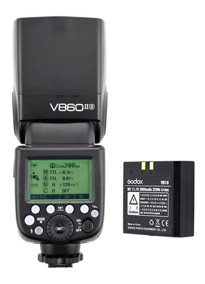 Flash Godox V860 Ll Para Sony Com Bateria
