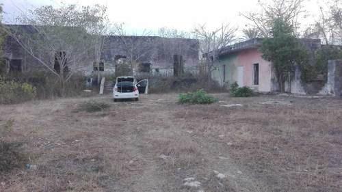 Se Vende Casco De Hacienda De 8 Hectáreas En Xmakuil