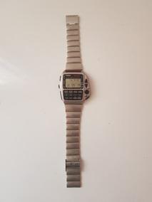 Relógio Casio Calculadora E Controle De Tv Cmd-40