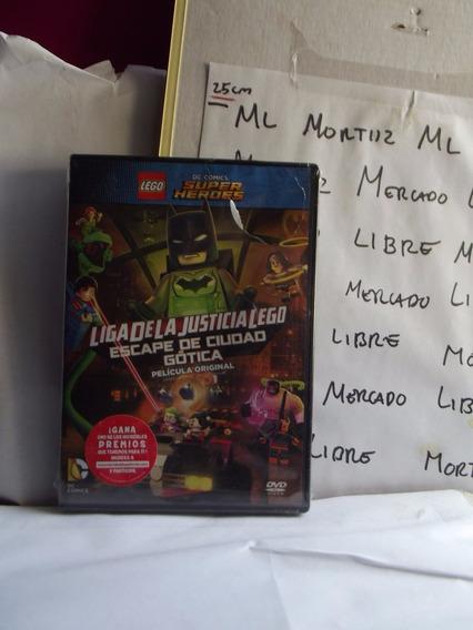 Dvd Lego Dc Super Heroes Liga Justicia Escape Ciudad Gótica