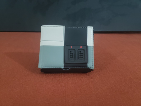 Carteira Nes 8 Bits Importada Original Nintendo Ny