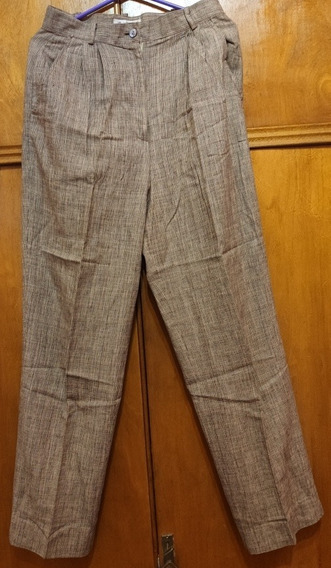 Pantalón Pinzado A Cuadros