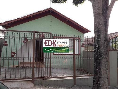 Casa Com 2 Dormitórios À Venda, 105 M² Por R$ 400.000 - Jardim Bela Vista - São José Dos Campos/sp - Ca2362