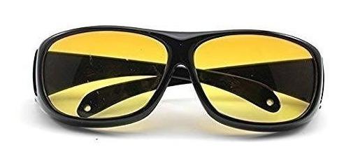 Gafas P Conducir De Noche Color Ámbar!