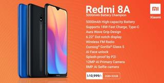 Celular Xiaomi Redmi 8a 32gb