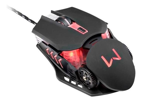 Mouse Para Jogo Warrior Gamer 3200 Dpi Keon 6 Botões Usb