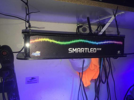Luminaria Smartled Aquario Marinho Ou Doce
