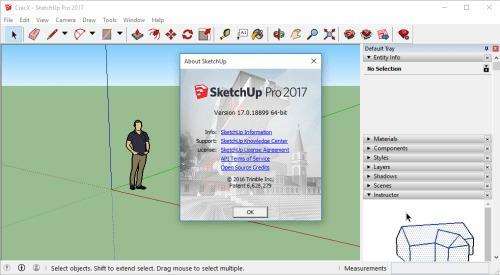 Sketchup Pro 2017 - Versão 17.3 Mac O.s - High Sierra Testad