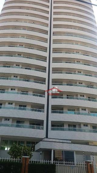 Apartamento Com 3 Dormitórios À Venda, 120 M² Por R$ 650.000 - Fátima - Fortaleza/ce - Ap0618