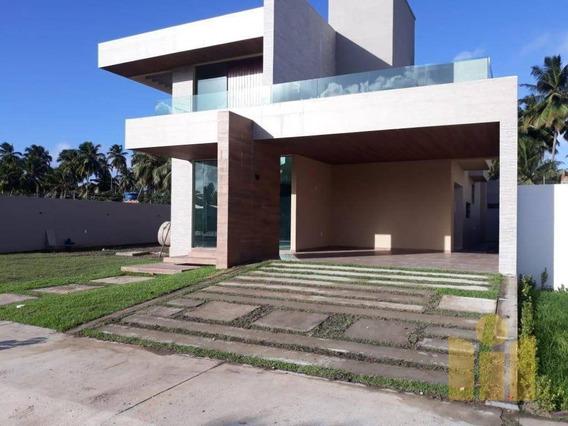Casa Com 3 Dormitórios À Venda, 210 M² Por R$ 900.000,00 - Massagueira De Baixo - Marechal Deodoro/al - Ca0387