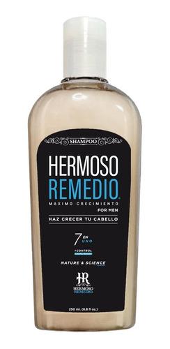 Imagen 1 de 10 de Shampoo Crecimiento Anticaída Caspa Reparador Hombre 7 En 1