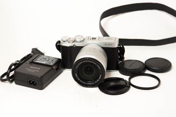 Câmera Fujifilm Xa2 Com Lente Xc 16-50mm F/3.5-5.6 Ois Ii