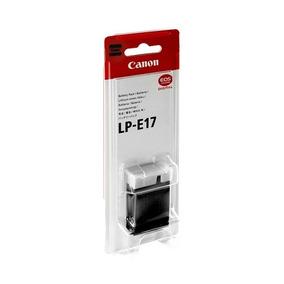 Bateria Canon Lp-e17 Original Nf-e Garantia Canon Brasil