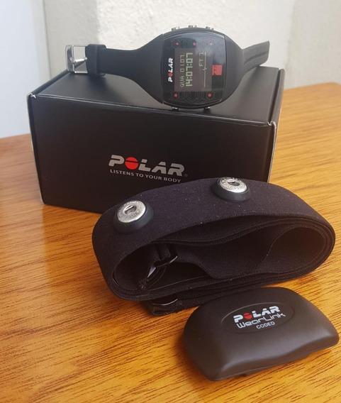 Relógio Monitor Cardíaco Polar Ft7 + Cinta