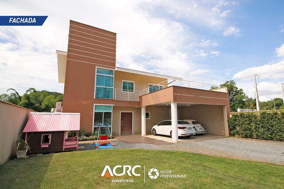 Acrc Imóveis - Casa Moderna E Semi Mobiliada Para Locação No Bairro Passo Manso - Ca01254 - 34787541