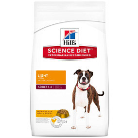 Alimento Perro Croquetas Adulto Light 14.9 Kg Hill