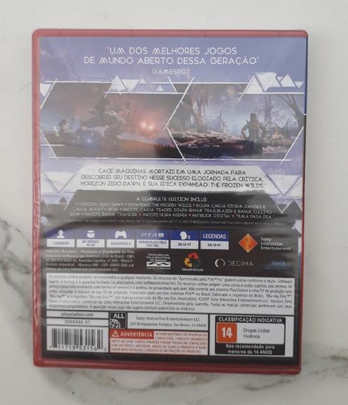Horizon Zero Dawn Complete Edition Ps4 Mídia Física 100% Pt