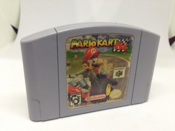 Mario Kart 64 - Nintendo 64 - Cartucho Original - Gradiente