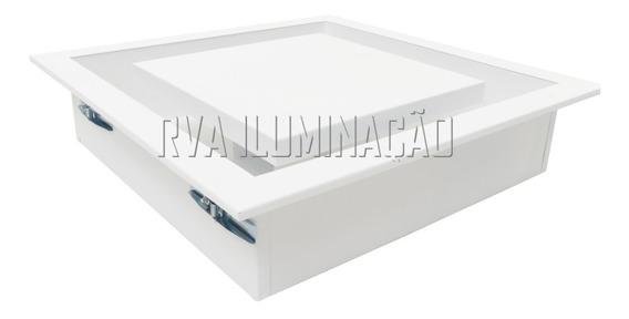 Plafon De Embutir Luz Indireta 50x50 Com Led