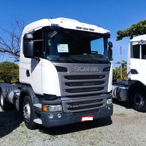 Scania R 440 2018 6x2 Com Retarder Pouco Rodada