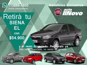 Fiat Siena El Negro 1.4 Nafta Gnc 2017 0km Autonovo S.a