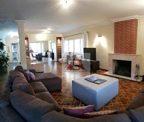 Sobrado Com 4 Dormitórios À Venda, 401 M² Por R$ 1.850.000,00 - Brooklin Paulista - São Paulo/sp - So3932