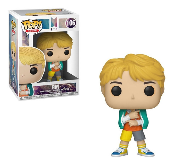 Funko Pop! Rocks Bts Rm. Fun Labs.
