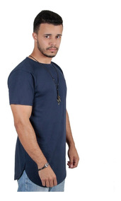 Kit C/3 Un Camisas Blusas Masculinas Longline Overzid Swag
