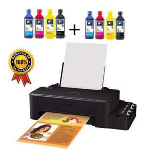 Impressora Epson L120 Ecotank + 8un Tinta Sublimatica