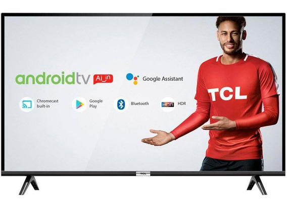 Smart Tv Led 32 Tcl Wi-fi Bluetooth® Comando De Voz Android