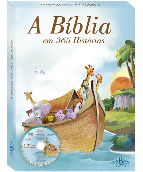 A Bíblia Em 365 Historias - Cd Tia Quelly