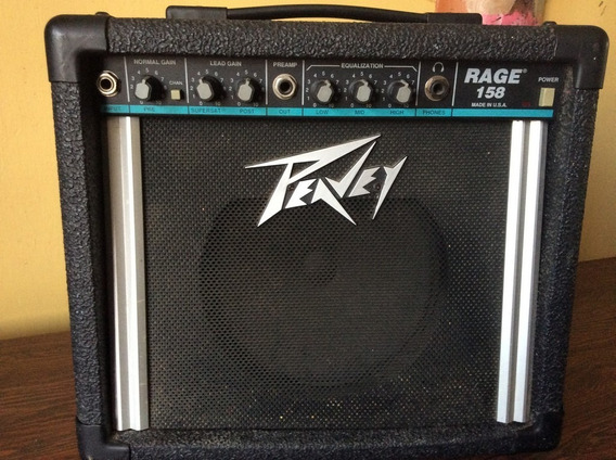 Amplificador Para Guitarra Peavey Rage 158 Made In Usa