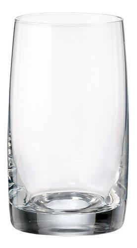 Imagen 1 de 6 de Vasos Cristal Bohemia De Agua Jugo Mesa Set X 6 250ml