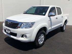 Toyota Hilux Doble Cab Mid A/ac Ve Tela Ra-15 Blanco 2015