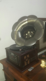 Gramofone Modelo Clássico