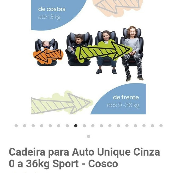 Cadeira Infantil De Automovel