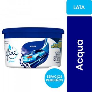 Glade Gel Auto Aromatizante Aqua Elimina Olores Y Aromatiza