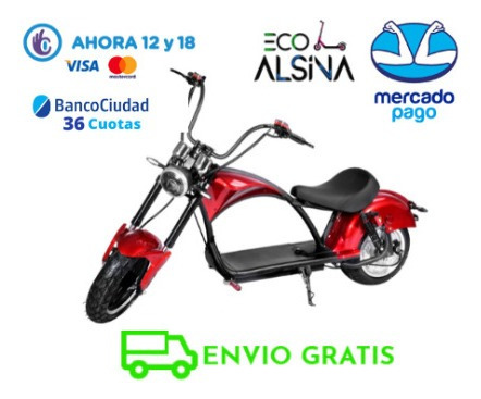 Moto Electrica Scooter Citycoco Chopera Financiacion