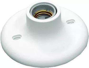 Kit 30 Plafon / Plafonier C/ Bocal Porcelana E27 100w Branco