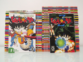 Mangá Dragon Ball + Saga Z Completo 1 Ao 32 E 1 Ao 51 Conrad