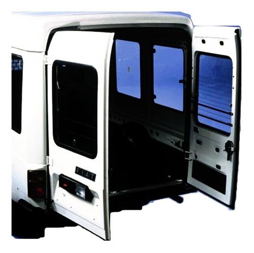 Porta Traseira Fiat Fiorino 147 Furgao Tampa Le. Vidro Grade